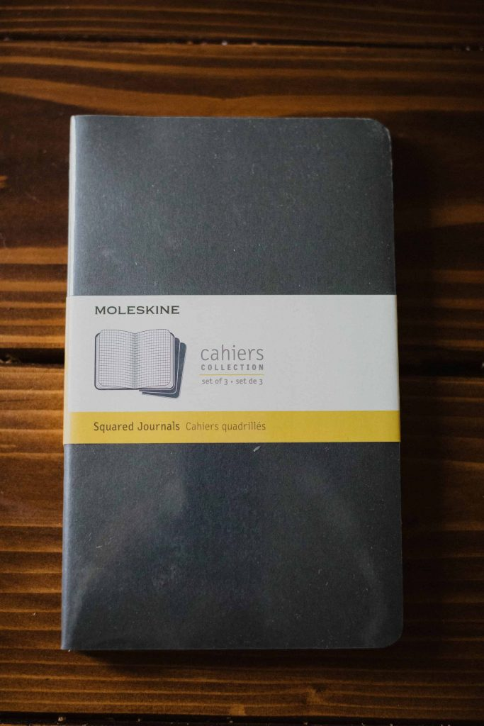 Moleskine Cahier Journa is my journal of choice